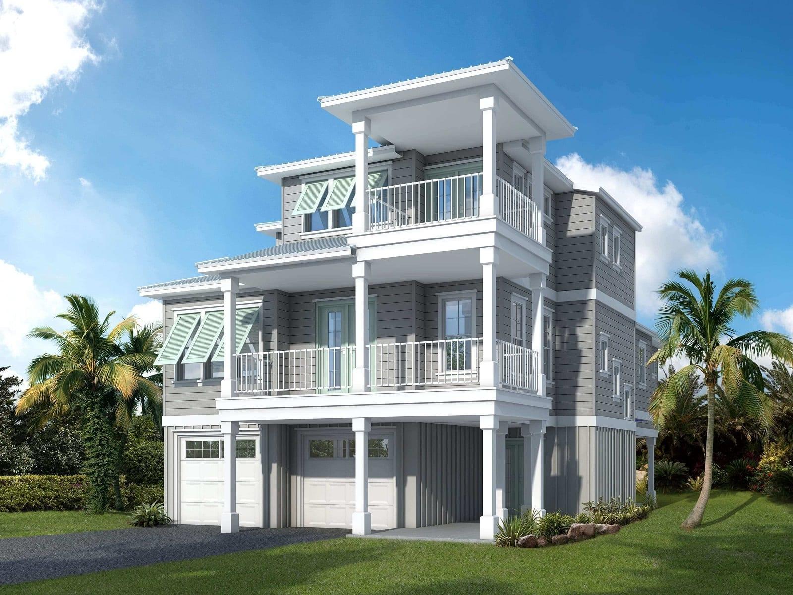 New custom home in South Jacksonville Beach built by Denneen Custom Homes