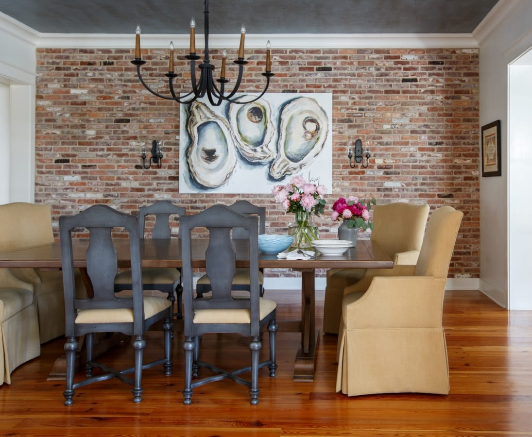 Custom Dining Room done for beautiful home in Ponte Vedra Florida