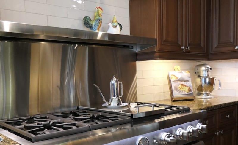 kitchen backsplash after